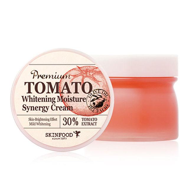 Sinergia SKINFOOD Prémio Tomate Branqueamento Umidade Creme 78 ml Cuidados Com A Pele Cuidados Com o Rosto de Cosméticos Coreano