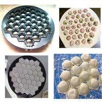 Набор для кухни jiaozi инструменты DIY формочка для приготовления пельменей тестопресс клецки 37 отверстий клецки машина ZF