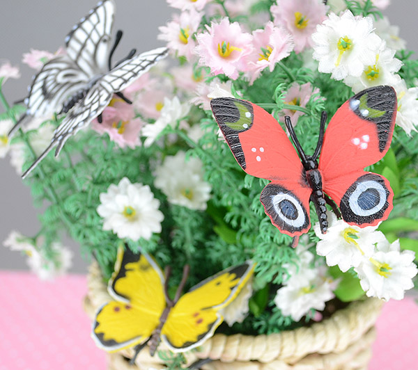 Special insect model toys and colorful Butterfly soft, real nice