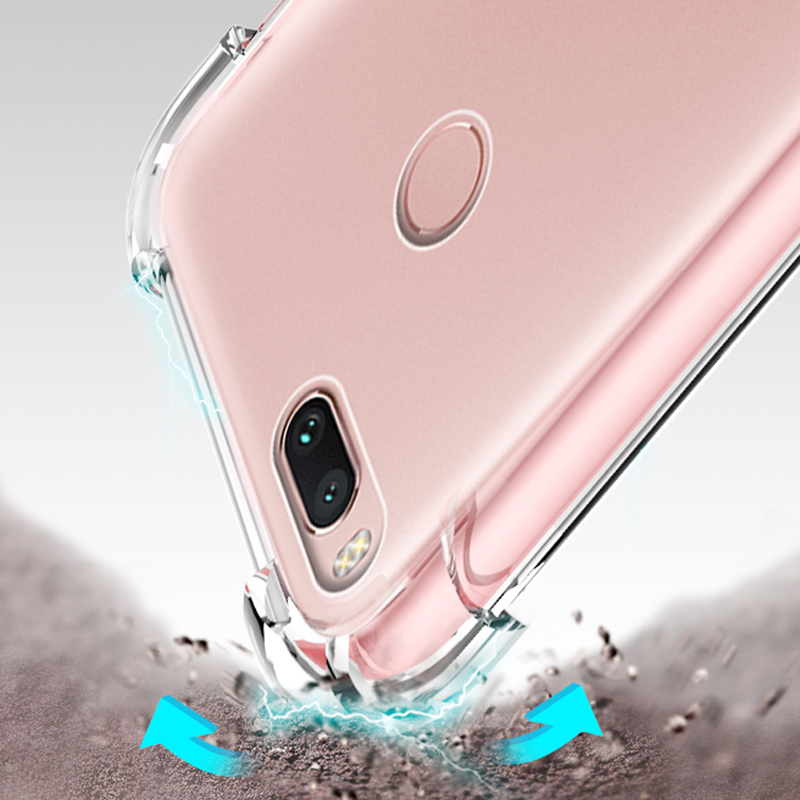 luxury tpu original phone back etui,coque,cover,case for xiaomi mi 5x mi5x mi a1 mia1 transparent silicon silicone accessories