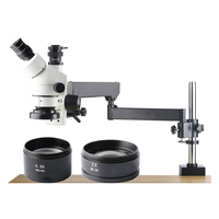 3.5X 90X Trinocular Stereo Micro Scope Mobile Phone Repair Microscope WF10X/20mm Eyepieces 0.5XCTV Camera interface 2019 NEW