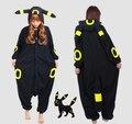 Pokemon Go New Anime Cartoon  Umbreon Romper Polar Pajamas Cosplay Costume Animal Onesie Night