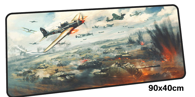 war thunder mousepad gamer 900x400X3MM gaming mouse pad large Mass pattern notebook pc accessories laptop padmouse ergonomic mat