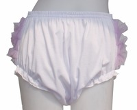 Adult Baby Ruffle Panties Bloomers Incontinence Diaper Cover FMP03 1 2 M L XL