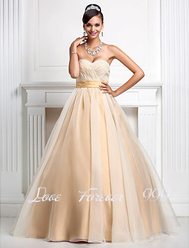 eeb0213f0d1 Long Quinceanera Sweet 16 Dress Ball Gown Champagne Quinceanera Dresses  Simple Sweetheart Strapless Prom Dresses Vestidos De 15