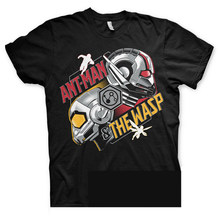 Officially Licensed Ant-Man and The Wasp BIG & TALL S-3XL Men's T-Shirt 2018 Short Sleeve Cotton T Shirts Man Clothing(China)
