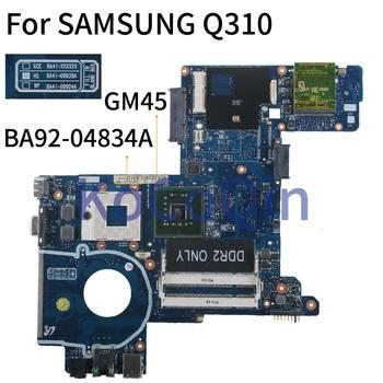 KoCoQin Laptop motherboard For SAMSUNG Q310 GM45 Mainboard BA41-00939A BA92-04834A