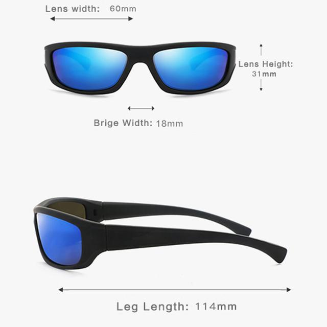Unisex Gafas Glasse Polaroid gafas de sol hombres de visión nocturna