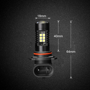 Image 5 - 2pcs 1200Lm H11 H8 ไฟ LED หลอดไฟ LED 9005 HB3 9006 HB4 ไฟวิ่งกลางวัน DRL FOG 6000K 12V ขับรถ