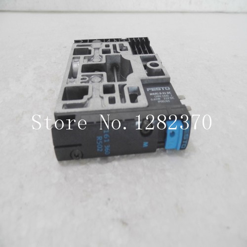 [SA] Genuine original special sales FESTO solenoid valve CPV14-M1H-5LS-1/8 spot 161360 --2PCS/LOT tl n10my2 10mm sensing ac 2 wire nc cube shell inductive screen shield metal proximity switch tl n10m proximity sensor 18 18 36