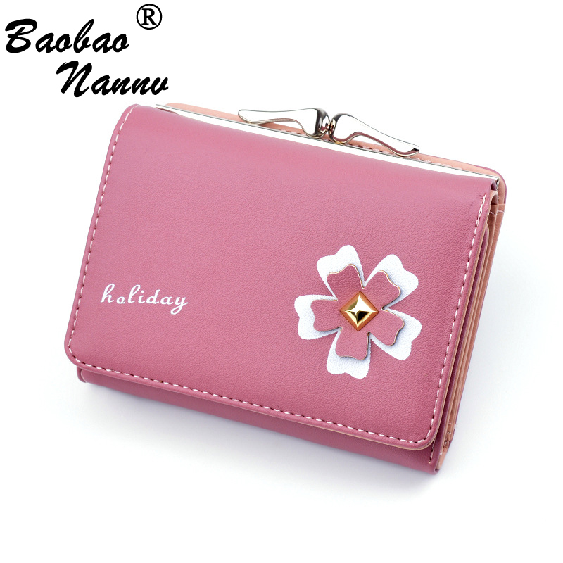 Girls Wallets 2019 New Cute Floral Soft Hasp Short Wallet for Women Lady Students Girlfriend Mini Purses Money Bag Cards HolderGirls Wallets 2019 New Cute Floral Soft Hasp Short Wallet for Women Lady Students Girlfriend Mini Purses Money Bag Cards Holder