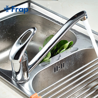 Classic Rotatable proboscis kitchen faucet for Steel basin mixer Six style optional Faucet Handle Multiple F4254