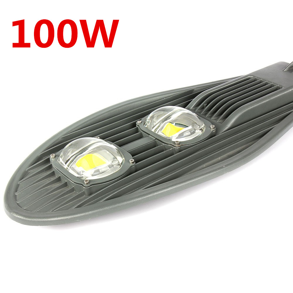4pcs For Sale 50W 100W 150W LED Street Lights Road Lamp Waterproof IP65 90-100lm/w AC85-265V Led streetlight Outdoor lighting 50w 100w150w led street light ac85 265v waterproof ip65 streetlight led outdoor lighting garden road lamp