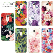 Купить с кэшбэком Case for Xiaomi mi 5X 6X Redmi 5 Plus Note 4X 5 Pro mi A1 A2 phone case Flower floral TPU Soft Silicone Back Cover