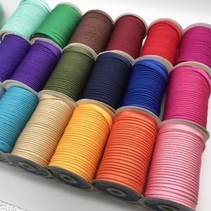 Бесплатная доставка --- полиэфирная атласная уклонистая окантовка, уклонистая лента с шнуром, лента для плетения, размер: 10 мм-12 мм, 25yds зеленый, розовый цвет