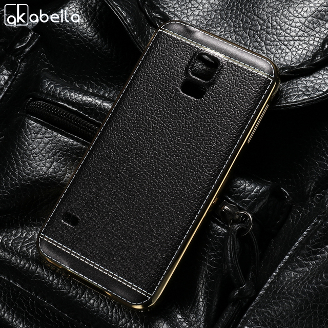 AKABEILA Silicone Phone Cover Case For Samsung Galaxy S5 SV I9600 G900F G900I G900M G900A G900T G900 G900 G900L G900S Case Cover