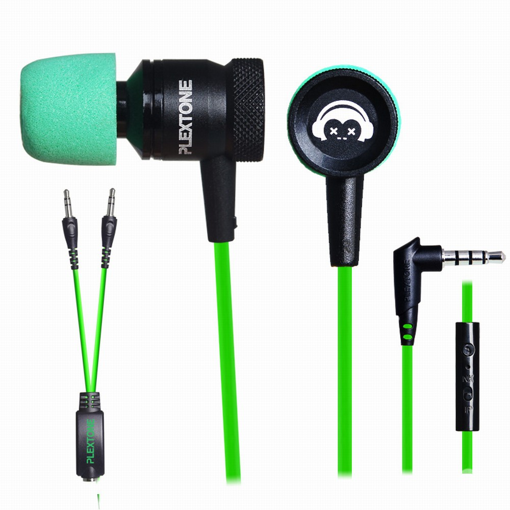 PLEXTONE G10 Noise Cancelling Gaming Headset In-ear 3.5mm Smartphone Computer Earphones With Mic For Iphone Sports Headphones