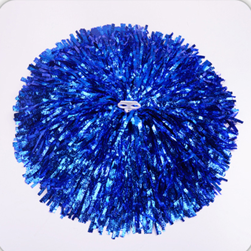 1Pair Handheld Pom Poms Cheerleader Dance Party Cheer Pom Club Decor Gadget Cheerleading Accessories