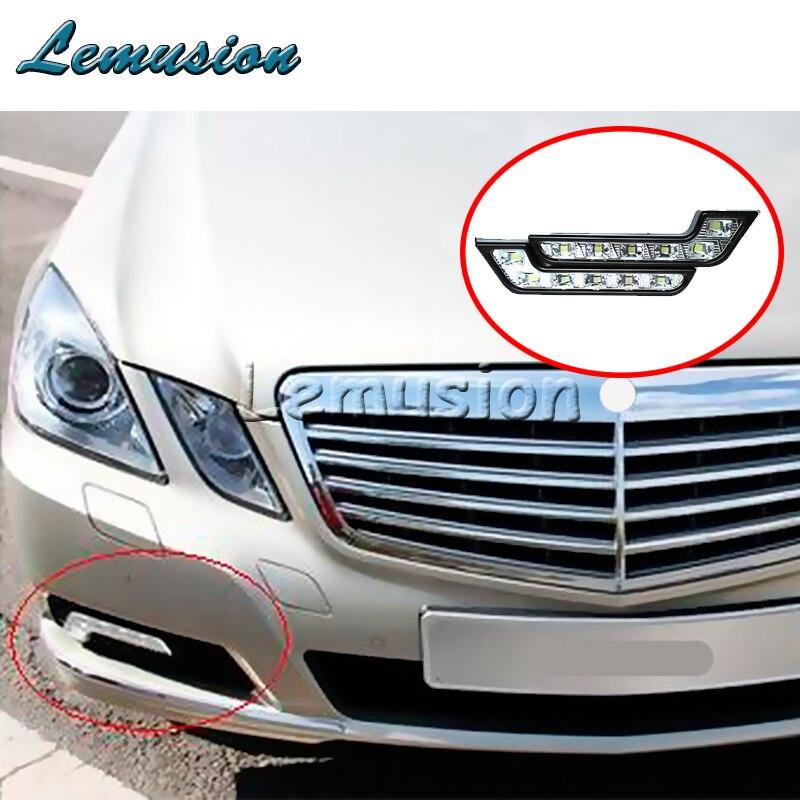 Car LED Daytime Running Lamp Fog Lights 12V For Lexus RX NX GS CT200H GS300 For Infiniti q50 FX35 G35 G37 Cadillac CTS SRX ATS Lexus RX