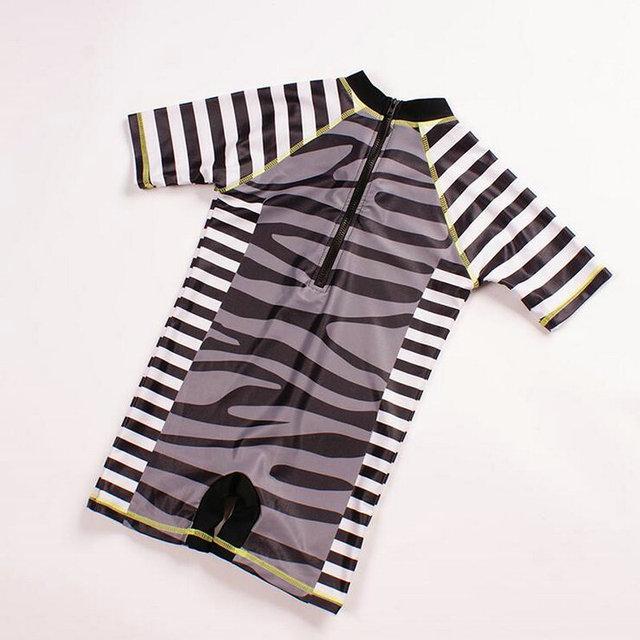 Children Swimsuit Animal Kids Swimwear for Boys Girls 2017 Summer Boys One Pieces Bathing Suits Quick Drying Children's Swimwear
