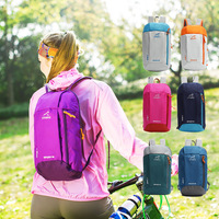 7 Color 12L Outdoor Sports Small Light Waterproof Backpack Hiking Camping Climbing Cycling Bag Rucksack Daypack