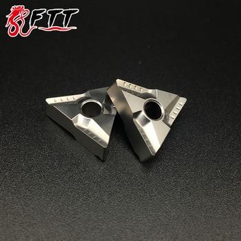 10PCS TNMG160404 L VF CT3000 TNMG331 Cermet Grade carbide inserts lathe cutter tools External turning tools CNC tools Turning Tool