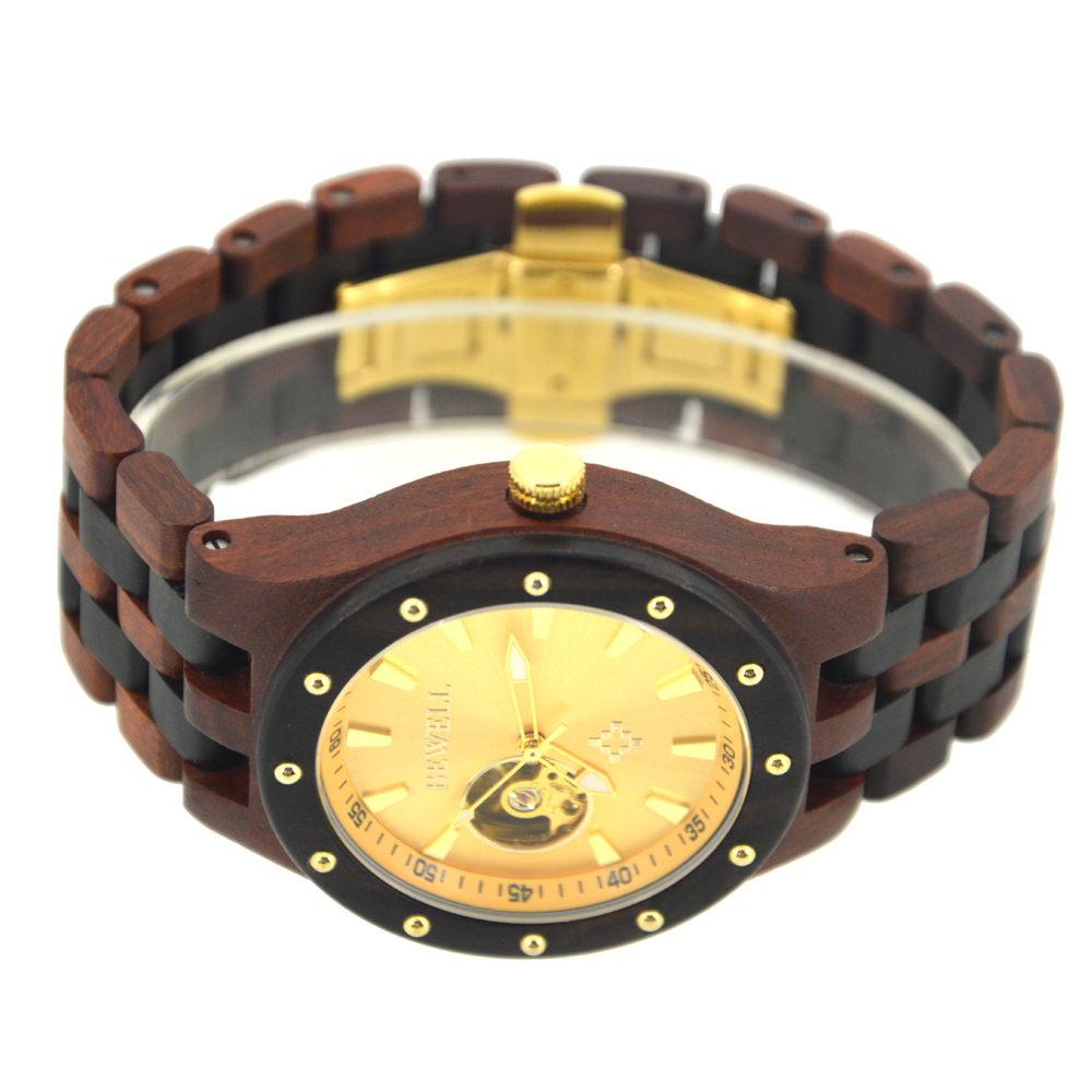 BEWELL Casual Top Luxury Brand Men Relojes Mecánicos Reloj de - Relojes para hombres - foto 3