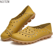 Women Flats Shoes Moccasins Mother Loafers Soft Genuine Leather Ladies Casual Shoes Flats Driving Women Footwear Shoes V225 все цены