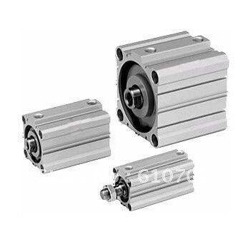 цена на SMC Type CDQ2B32-100D(CQ2B32-100D) Miniature Compact Cylinder Double Acting Single Rod 32mm-100mm Replace SMC