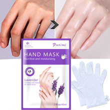 4Pcs=2Pair Exfoliating Hand Mask Soften Whitening Moisturizing Skin Care Lavender Hand Mask Cream Anti-drying Spa Hand Gloves 4 colors gel spa silicone gloves soften whiten exfoliating moisturizing treatment hand mask care repair hand beauty tools new