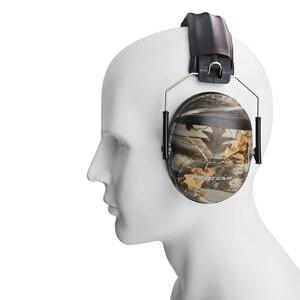 Image 2 - Nrr 27db tampões de ouvido redução ruído proteção de ouvido muffs de ouvido tiro arma de proteção auditiva gama ruído alto