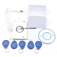 USB ACR122U A9 NFC Đầu Đọc Nhà Văn Duplicator RFID Thông Minh + Tặng Bộ 5 UID Có Thể Thay Đổi Thẻ + Tặng 5 Chiếc UID Keyfob + 1 SDK CD