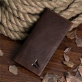 New arrival fashion genuine leather long design men wallet  multi-card bit  wallets high-quality  wolf prints purse freeshipping