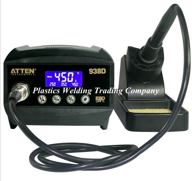 DHL fast shipping New arrival AT938D Digital Electrostaticstatic discharge lead-free rework station