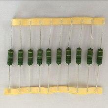 10 шт. RX21 проволочный резистор 3 Вт 0,01 R-1 K Ом плоский провод тепловыделение мощность резистор