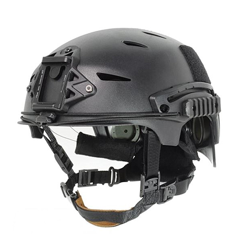 EXFIL Tactical Bump Helmet Rapid Reaction Tactical Helmets Black / Desert for Paintball Airsoft and Hunting Cycling Motorcycle tactical helmet motorcycle helmets wwii german helmet m35 helmet classic engraved