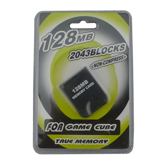 128MB מיקרו זיכרון כרטיס לngc עבור GameCube