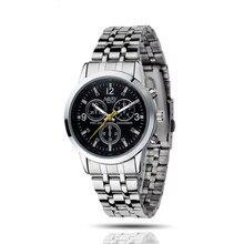 Irisshine i06 высокое качество мужчины часы 1 ШТ. Роскошные Водонепроницаемый Нержавеющей Стали Кварцевые Деловой Человек Наручные Часы