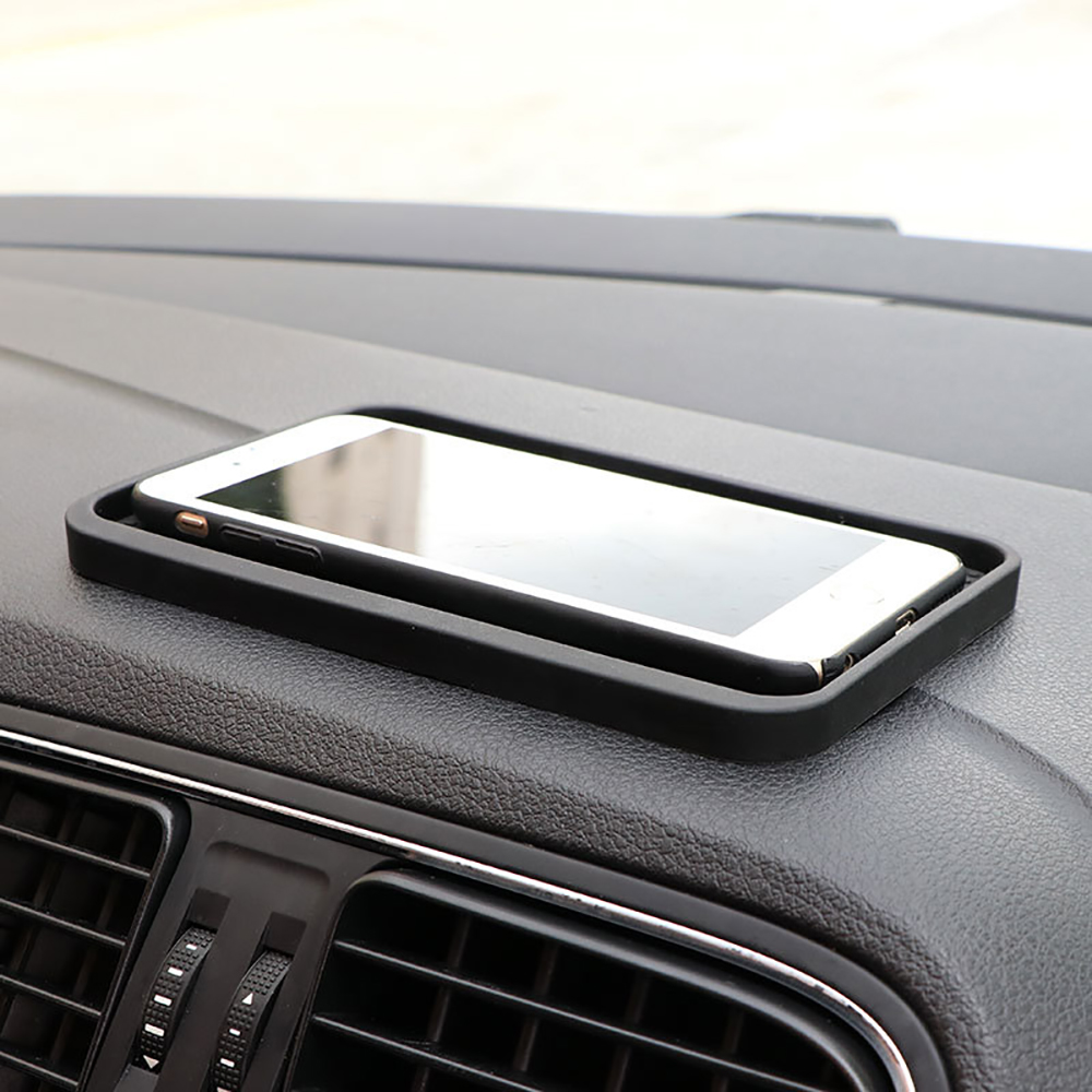 Car Non-slip Mat Phone Holder Silicone Automotive Skidproof Mat Dashboard Sticky Pad Automobiles Anti-slip Cushion Accessories