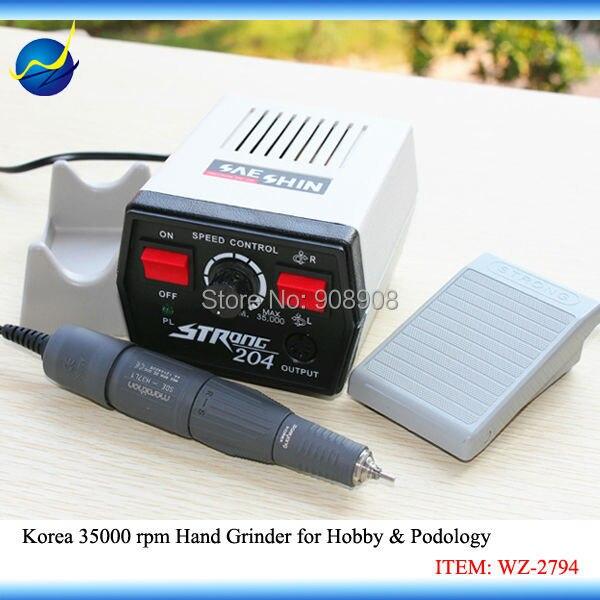 Korea 204 Hand Dremel H37L1 kézidarab mini mikromotor ékszerekhez, - Elektromos kéziszerszámok - Fénykép 1