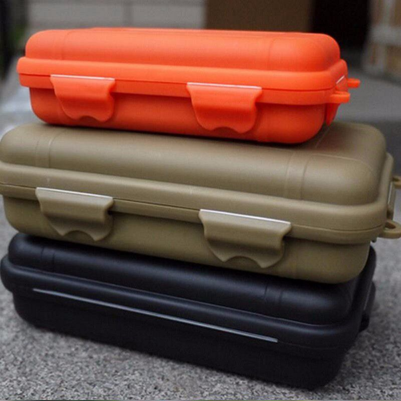 Image 4 - Outdoor Survival Storage Case Box Kayak Storage Camp Fish Trunk Airtight Container Carry Travel Seal Case Bushcraft Survive Kit-in Safety & Survival from Sports & Entertainment
