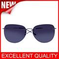 2016 Titanium frame Rimless Polarized sunglasses Super light Men Driving mirror Sunglasses Women Men Sun Glasses Summer Style