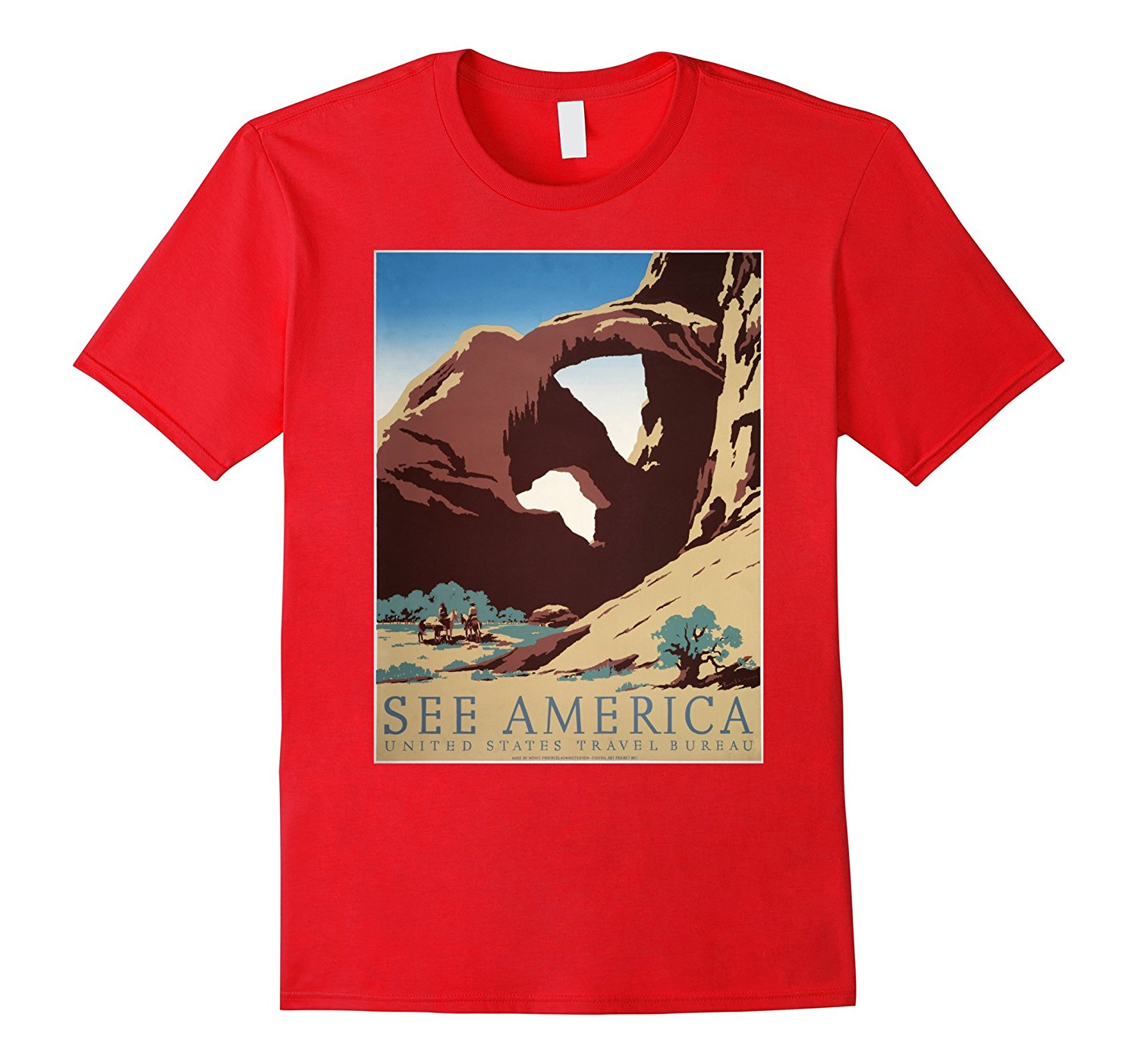 Gildan Southwest US Retro T-Shirt