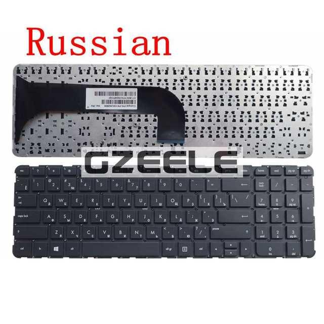 Русский нью-клавиатура для HP завидуют m6 m6-1000 m6-1100 m6-1200 PK130U92B06 RU клавиатура ноутбука