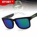 HISTÓRIA de Novos Esportes de Design Da Marca óculos de Sol de qualidade Superior Moda Mulheres Homens Óculos de Sol oculos gafas de sol masculino Anti-UV400