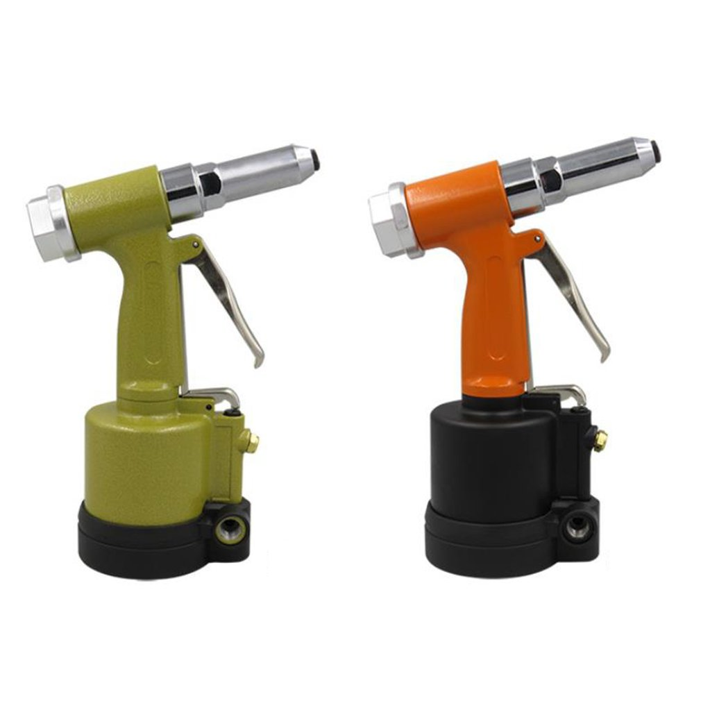 Short Cylinder Pneumatic Nail Gun Kp-701 Industrial Grade Pulling Riveting Nut Gun Wind Core Rivet Gun