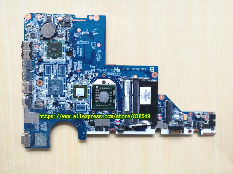592809-001 mainboard DA0AX2MB6E1 REV: E With Processor Fit For HP/ Compaq  CQ62 G62 CQ42 G42 Notebook PC