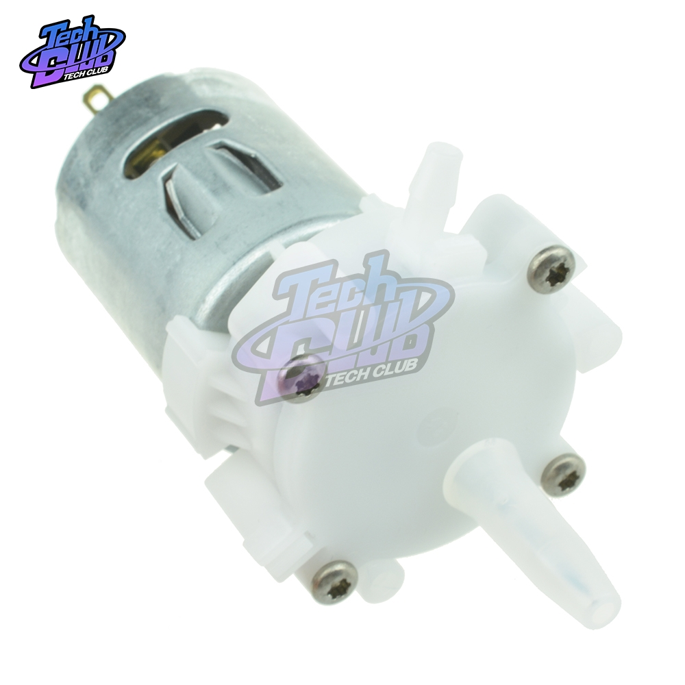 DC 3V-12V Electric Aquarium Self-priming Motor Pump RS-360SH Miniature Water Pump Pumping Gear Motor