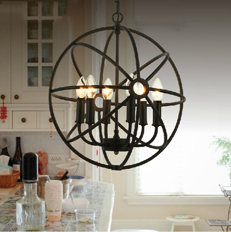 SINFULL ART American Vintage Pendant Light Iron Industrial Hanging Lamp Living Room Dining Room Retro suspension lights Fixtures american art creative retro vintage pendant lights spring iron hanging pendant lamp indoor iron black pendant lamp light