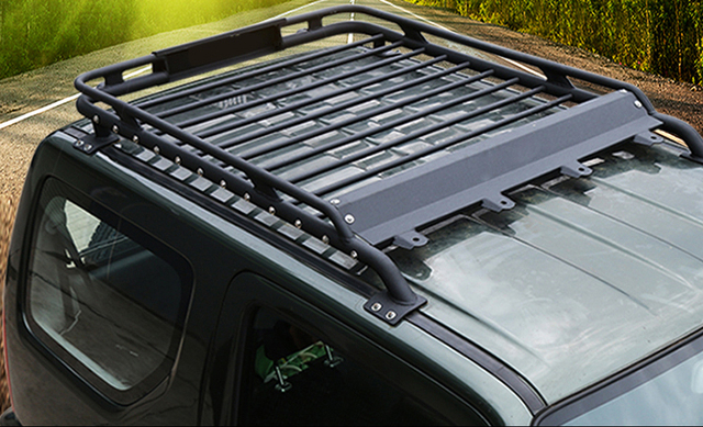 Jimny Off Road Car Styling Steel Roof Rack-in Roof Racks   Boxes ... a0502e322059